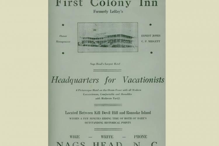 First Colony Inn History